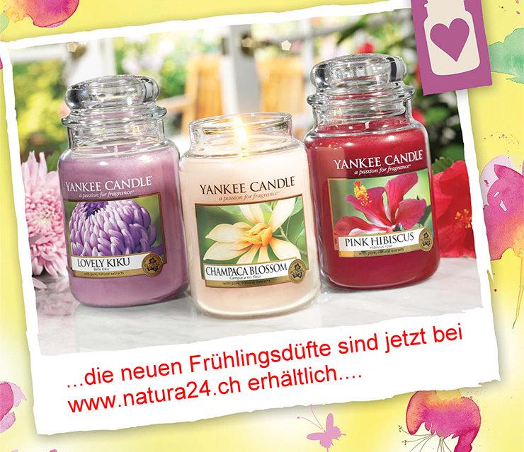 Yankee Candle Frühlingsdüfte 2014